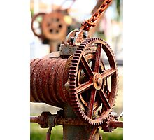 Old Winches Photographic Print