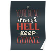 Keep Going. Poster