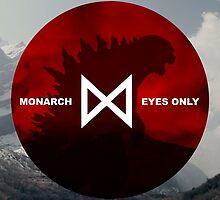 Monarch Eyes Only - Godzilla 2014 by V Bell