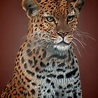 Leopard Elegance by Cherie Roe Dirksen