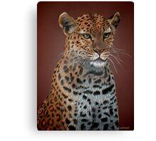 Leopard Elegance Canvas Print