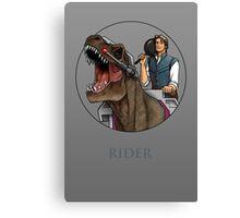 Rider - Flynn Rider x Dino-Riders Canvas Print