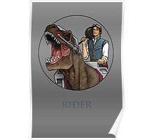 Rider - Flynn Rider x Dino-Riders Poster