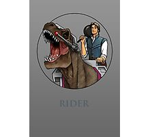 Rider - Flynn Rider x Dino-Riders Photographic Print