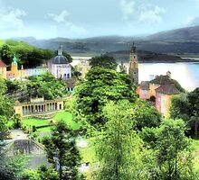 Enchanted Portmeirion by Angela Harburn