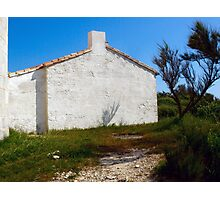 Lighthouse Keepers Cottage Photographic Print