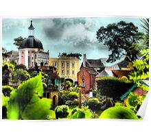 Portmeirion Village Through the Gardens Poster