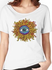 Psychedelic Sunflower - Just the flower Women's Relaxed Fit T-Shirt