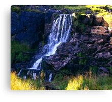 Ais Gill Waterfall Canvas Print