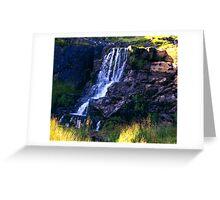 Ais Gill Waterfall Greeting Card