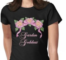 Garden Goddess Womens Fitted T-Shirt