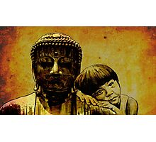 buddha girl Photographic Print