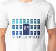 50 SHADES OF BLUE Unisex T-Shirt