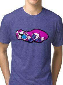 Sleepy Puppy Shocking Pink and Blue Tri-blend T-Shirt