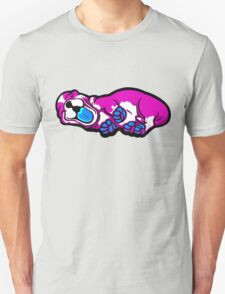 Sleepy Puppy Shocking Pink and Blue Unisex T-Shirt