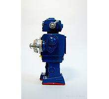 Robot Art Photographic Print