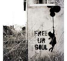 Free your soul Photographic Print