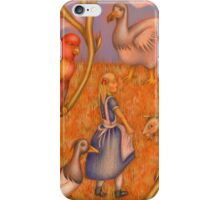 Alice and the animals iPhone Case/Skin