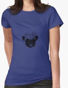 Funny Pug Dog with a bow T-Shirt