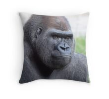 Caught Looking Throw Pillow