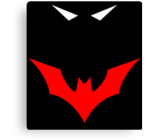 Batman Beyond In the Dark Canvas Print