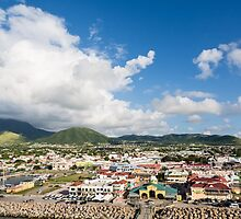 Colorful Port of St Kitts by dbvirago