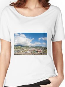 Colorful Port of St Kitts Women's Relaxed Fit T-Shirt