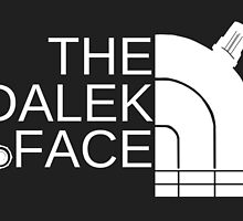 The dalek face (white) by Arry