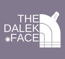 The dalek face (white) Kids Clothes
