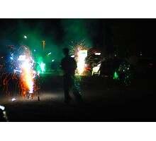 small town celebration Photographic Print