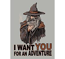 I WANT YOU FOR AN ADVENTURE Photographic Print