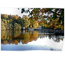Studley Royal Water Gardens-The Lake Poster