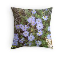 from mount scott flowers Throw Pillow