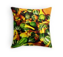 Summers Bounty - Winters Treat  Throw Pillow