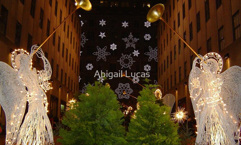 Christmas Angels by Abi Skeates