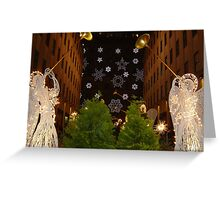 Christmas Angels Greeting Card