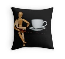 Once upon a time there was a man from Columbia....... Throw Pillow