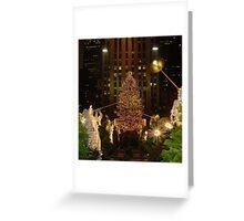 Rockefeller Christmas Greeting Card