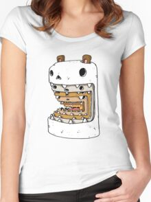 It's a hamster eat hamster world out there Women's Fitted Scoop T-Shirt