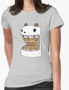 It's a hamster eat hamster world out there Womens Fitted T-Shirt