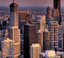 Chicago Skyline by UmbieArt