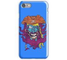 Purple Bearded Pirate  iPhone Case/Skin