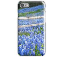 Spring Bluebonnets in the Hill Country iPhone Case/Skin