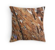 busy... Throw Pillow