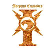 Adeptus Custodes, Warhammer 40K Photographic Print