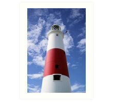 A Lighthouse Called Wally Art Print