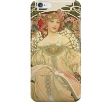 Alphonse Mucha Painting III iPhone Case/Skin
