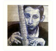Shane MacGowan  Art Print
