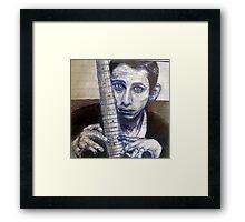 Shane MacGowan  Framed Print
