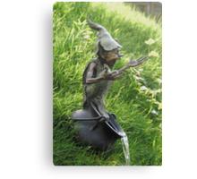 Cauldron Fountain Canvas Print